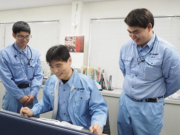 社員インタビュー Vol.04 ◎人として、電気工事士として成長できる職場